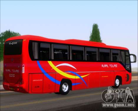 Yanson Viking 4th Generation Rural Tours 10010 para GTA San Andreas vista posterior izquierda