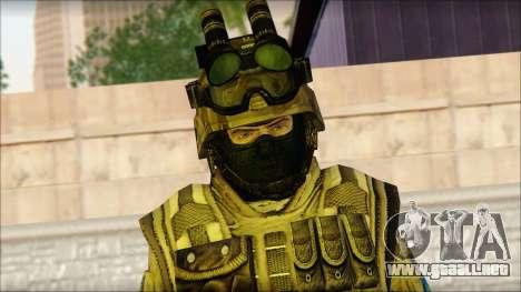 Los soldados de la UE (AVA) v4 para GTA San Andreas tercera pantalla