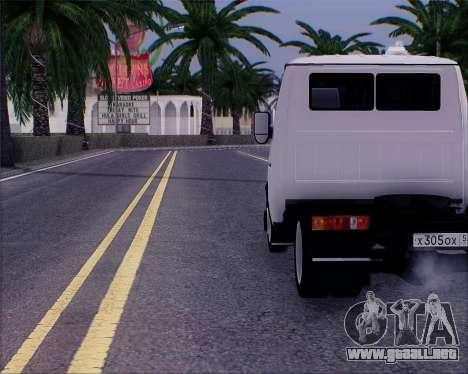 GAZel 3302 para GTA San Andreas left