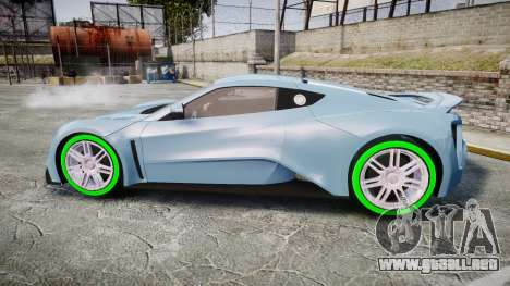 Zenvo ST1 2010 para GTA 4 left