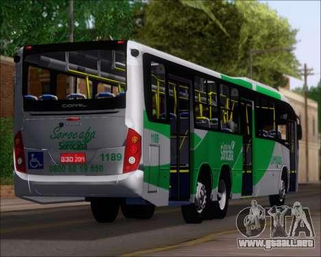 Comil Svelto BRT Scania K310IB 6x2 Sorocaba para las ruedas de GTA San Andreas