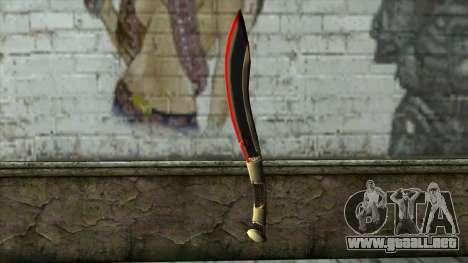 Fang Blade from PointBlank v1 para GTA San Andreas