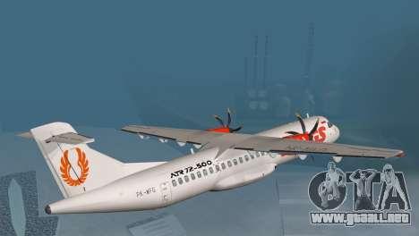 Indonesian Plane Wings Air para GTA San Andreas left