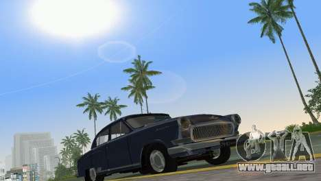 GAZ-21R Volga 1965 para GTA Vice City vista interior