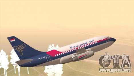 Indonesian Plane Sriwijaya Air para GTA San Andreas left