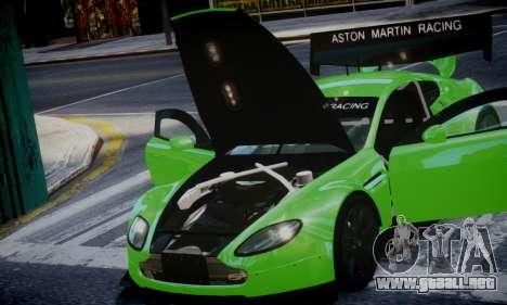 Aston Martin Vantage GTE para GTA 4 Vista posterior izquierda