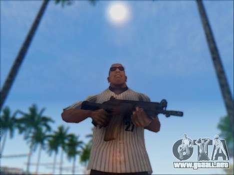 Israel carabina ACE 21 para GTA San Andreas twelth pantalla