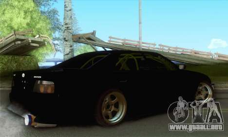 Toyota Chaser Drift 2JZ-GTE para GTA San Andreas left