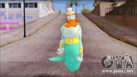Kingnept from Sponge Bob para GTA San Andreas