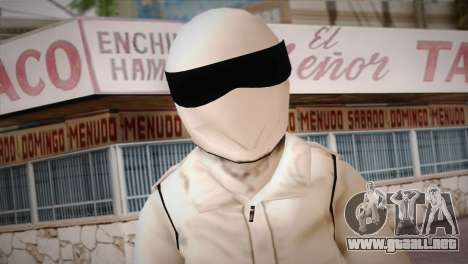 The Stig from Top Gear para GTA San Andreas tercera pantalla