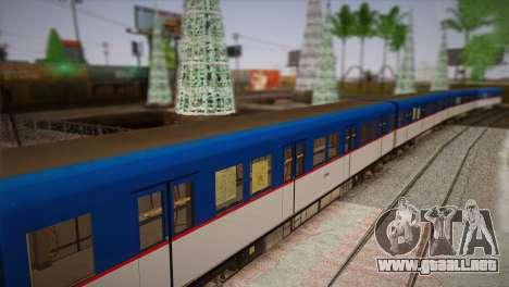 MRT-2 para GTA San Andreas vista posterior izquierda