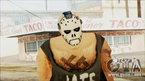 Manhunt Ped 11 para GTA San Andreas tercera pantalla