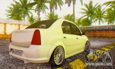 Dacia Logan ZYCU para GTA San Andreas left