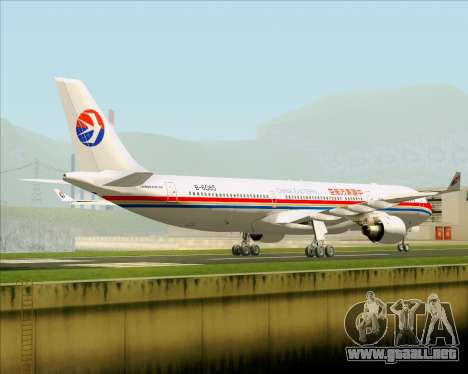 Airbus A330-300 China Eastern Airlines para la visión correcta GTA San Andreas