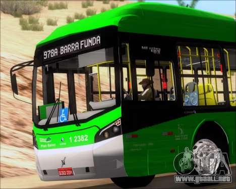 Caio Induscar Millennium BRT Viacao Gato Preto para vista lateral GTA San Andreas