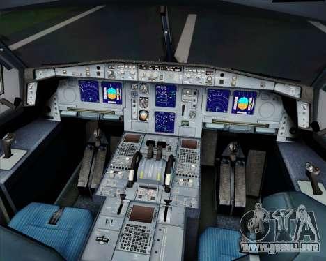 Airbus A340-313 SriLankan Airlines para la vista superior GTA San Andreas