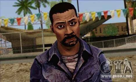Lee from Walking Dead para GTA San Andreas tercera pantalla