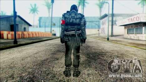 Manhunt Ped 1 para GTA San Andreas segunda pantalla