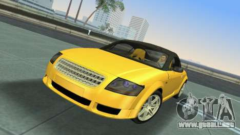 Audi TT Coupe BiMotor Black Revel para GTA Vice City left