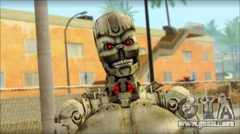 T900 (Terminator 3: la guerra de las máquinas) para GTA San Andreas tercera pantalla