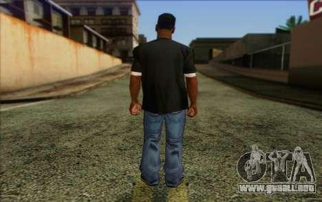 N.W.A Skin 4 para GTA San Andreas segunda pantalla