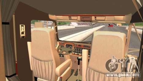 Kenworth T800 Road Train 8X6 para la visión correcta GTA San Andreas