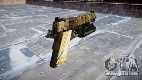 Pistola De Kimber 1911 Ronin para GTA 4 segundos de pantalla
