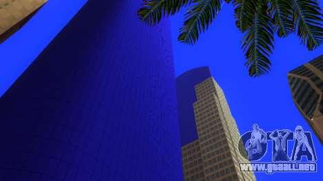De texturas en HD de cuatro rascacielos en Los S para GTA San Andreas sucesivamente de pantalla