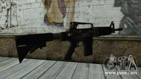 TheCrazyGamer M16A2 para GTA San Andreas segunda pantalla
