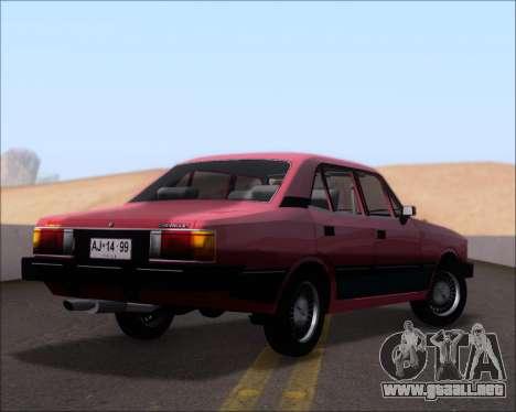 Chevrolet Opala Diplomata 1987 para la visión correcta GTA San Andreas