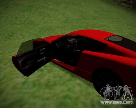 F620 from GTA V para GTA San Andreas vista posterior izquierda