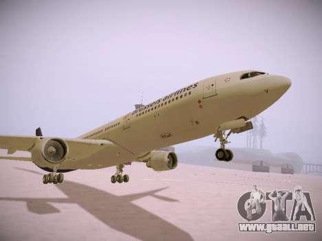 Airbus A330-300 Brussels Airlines para la vista superior GTA San Andreas