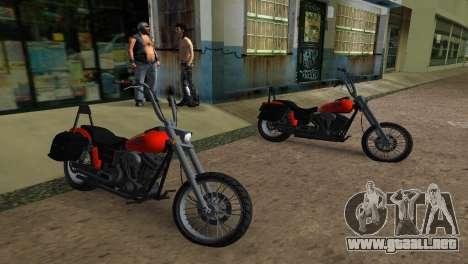 WMC Angel para GTA Vice City vista lateral izquierdo