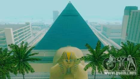 Nuevas texturas de la pirámide en Las Venturas para GTA San Andreas