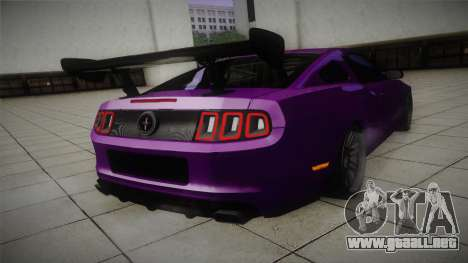 Ford Mustang Boss 302 2013 Road Version para la visión correcta GTA San Andreas