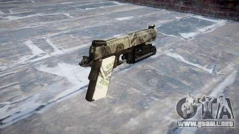 Pistola De Kimber 1911 Benjamins para GTA 4 segundos de pantalla
