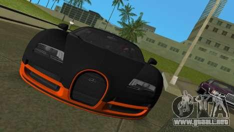 Bugatti Veyron Super Sport para GTA Vice City left