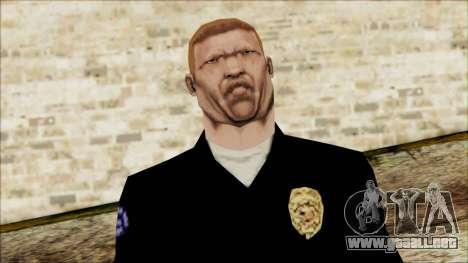 El oficial Carver de Escena para GTA San Andreas tercera pantalla