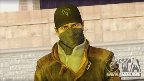 Aiden Pearce from Watch Dogs para GTA San Andreas tercera pantalla