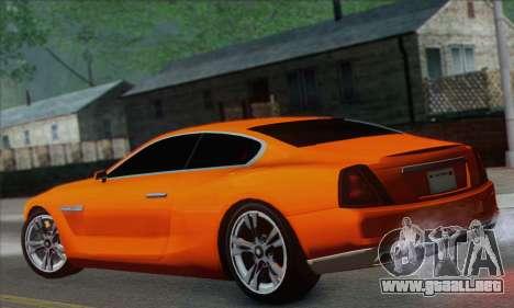 Alpha - DLC Business GTA V para GTA San Andreas left