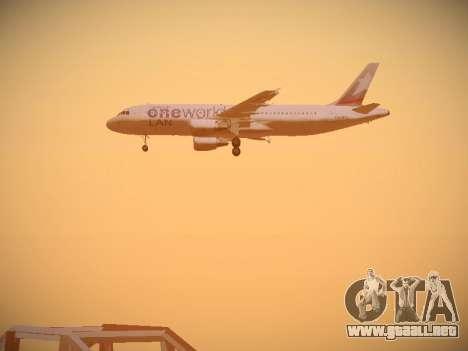 Airbus A320-214 LAN Oneworld para el motor de GTA San Andreas