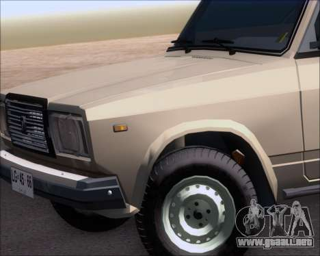 LADA 2107 para GTA San Andreas