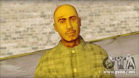 Los Aztecas Gang Skin v1 para GTA San Andreas tercera pantalla