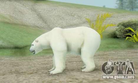 Polar Bear (Mammal) para GTA San Andreas segunda pantalla