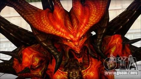 Diablo From Diablo III para GTA San Andreas tercera pantalla