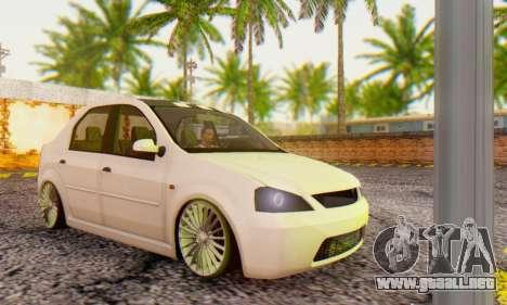 Dacia Logan ZYCU para GTA San Andreas
