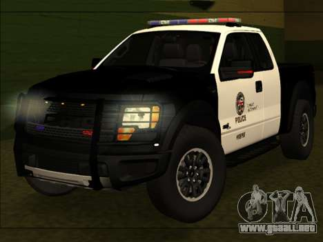 LAPD Ford F-150 Raptor para GTA San Andreas