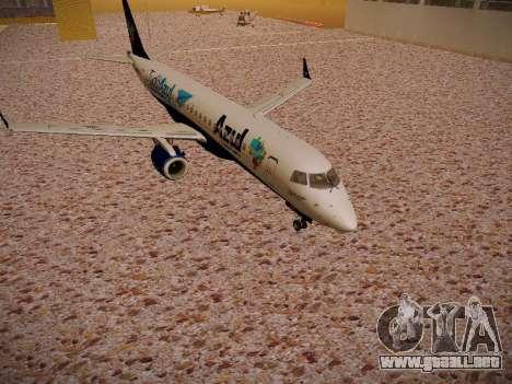 Embraer E190 Azul Tudo Azul para GTA San Andreas left