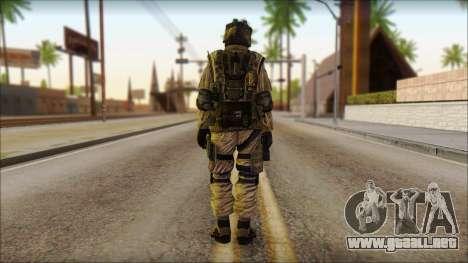Los soldados de la UE (AVA) v4 para GTA San Andreas segunda pantalla