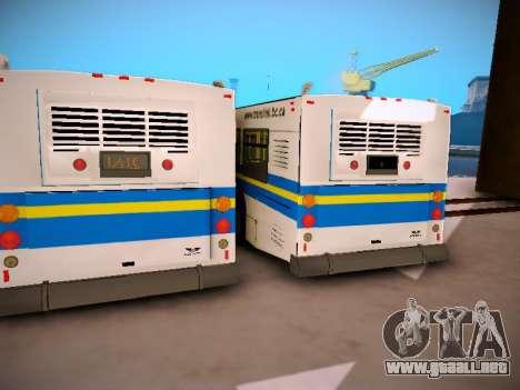 NewFlyer D40LF TransLink Vancouver BC para visión interna GTA San Andreas